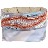 DIY beads and sequins embroidery kit ''Soft Basket""