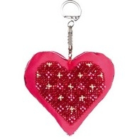 "Kit with seed beads ""Keychain ""Heart"""