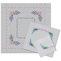 Lavender (tablecloth + 2 napkins)