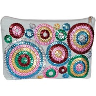 DIY beads and sequins embroidery kit ''Cosmetic case""