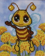 "Kit with seed beads ""Bee"""