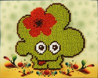 "Kit with seed beads ""Little Monster"""