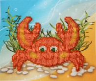 "Kit with seed beads ""Crab"""