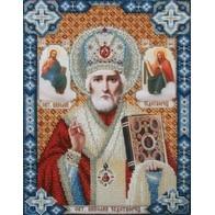 "Kit with seed beads ""St. Nicholas the Wonderworker"""