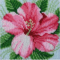 "Kit with seed beads ""Hibiscus"""