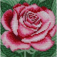 "Kit with seed beads ""Rose"""
