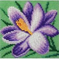 """Kit with seed beads """"Crocus"""""""
