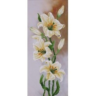 """Kit with seed beads """"Lilies"""""""