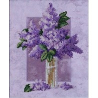 "Kit with seed beads ""Lilac"""