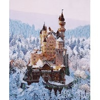 "Kit with seed beads ""Fairytale Castle"""