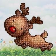 "Kit with seed beads ""Deer"""
