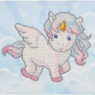 "Kit with seed beads ""Unicorn"""