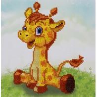 """Kit with seed beads """"Giraffe"""""""