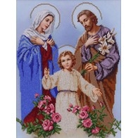 "Kit with seed beads ""The Holy Family"""