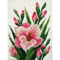 """Kit with seed beads """"Gladiolus"""""""