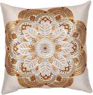 "Kit with seed beads ""Decorative Cushion"""