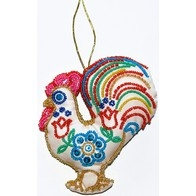 "DIY beads and sequins embroidery kit ''Decorative Toy ""Rooster"""