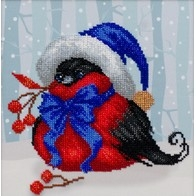 "Kit with seed beads ""Festive Bird"""