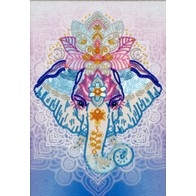 """Free-form beads and sequins embroidery kit ''Symbol of Wisdom"""""""