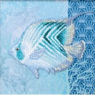 "Kit with seed beads ""Sea World"""