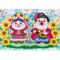 "Kit with seed beads ""Married Couple"""