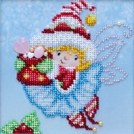 Kit with seed beads ''New Year's Holiday""