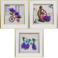 Lavender Paradise (triptych)