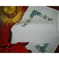 Blue Flowers (2 napkins)