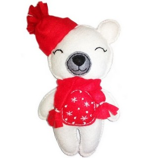 "Felt DIY kit ""Decorative Toy ""Teddy Bear"""