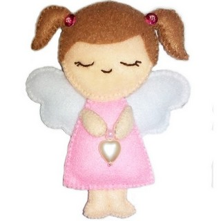 "Felt DIY kit ""Decorative Toy ""Angel"""