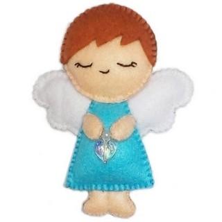 "Felt DIY kit ""Decorative Toy ""Angel"""