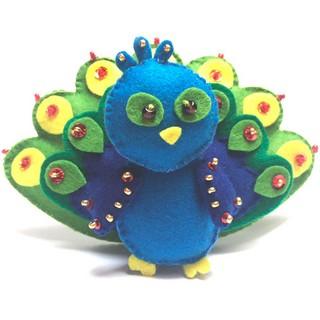 "Felt DIY kit ""Peacock"""