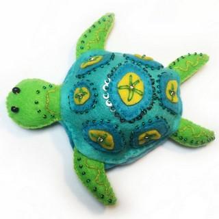 """Felt DIY kit """"Turtle"""""""
