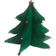 "Felt DIY kit ''Decorative toy ""Christmas Tree"""
