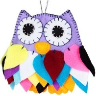 "Felt DIY kit ''Decorative toy ""Owl"""