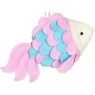 "Felt DIY kit ''Decorative toy ""A Fish"""