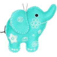 "Felt DIY kit ''Decorative toy ""An Elephant"""