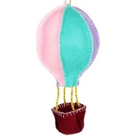 "Felt DIY kit ''Decorative toy ""A Balloon"""