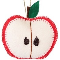 "Felt DIY kit ''Decorative toy ""An Apple"""