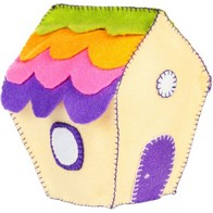 "Felt DIY kit ''Decorative toy ""Small House"""