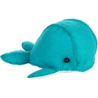 "Felt DIY kit ''Decorative toy ""A Whale"""