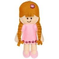 """Felt DIY kit ''Decorative toy """"A Doll"""""""