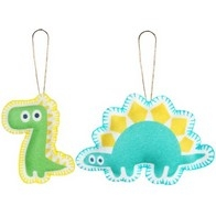 "Felt DIY kit ''Decorative toys ""Dinosaurs"""