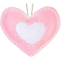 "Felt DIY kit ''Decorative toy ""Heart"""