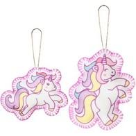 """Felt DIY kit ''Decorative toys """"Unicorns"""""""