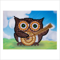 Pins and sequins art kit ''Owl""