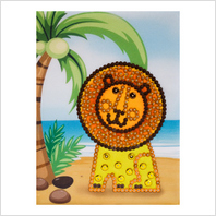 Pins and sequins art kit ''Lion""