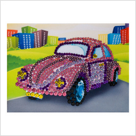 Pins and sequins art kit ''Car""